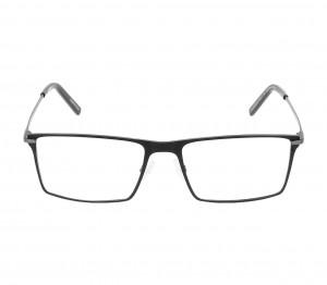 Full Rim Titanium Rectangle Grey Medium Unofficial UNOM0048 Eyeglasses