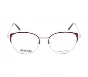 Full Rim Stainless Steel Cat Eye Violet Medium Unofficial UNOF0176 Eyeglasses
